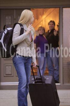 Daughter leaving home